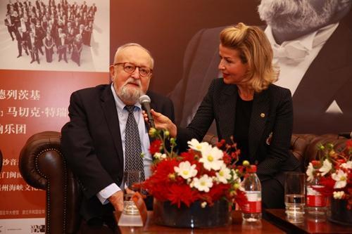 致敬艺术家潘德列茨基85岁生日 这场音乐会将举行
