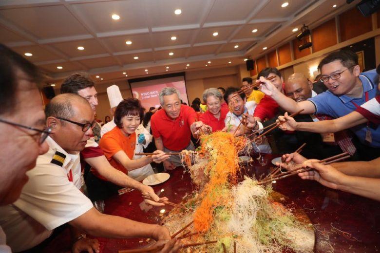 李显龙:中美贸易摩擦致多国增长放缓 新加坡应能稳步向前