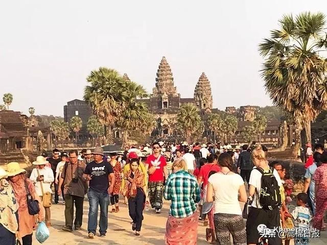10万外国人在中国春节期间游柬埔寨