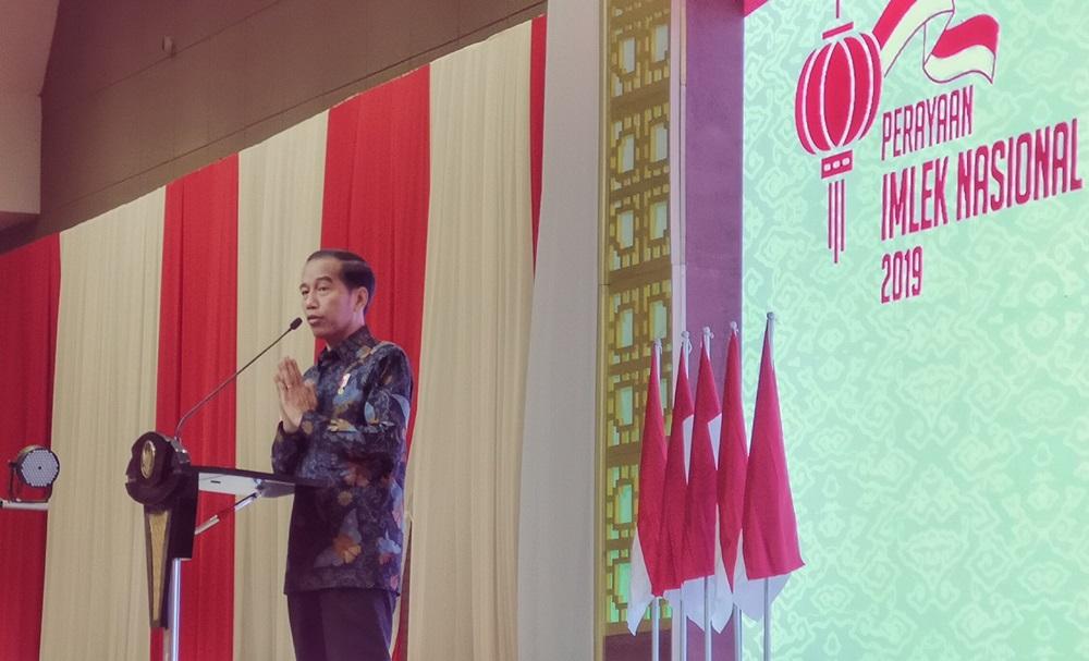 印尼举行全国春节联欢庆祝 印尼总统佐科和前总统梅加瓦蒂出席