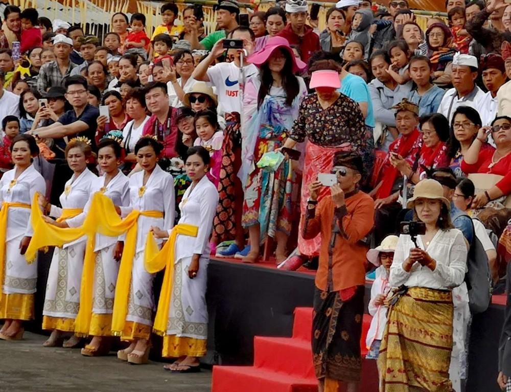 印尼巴厘省政府为中国游客举办春节庆祝活动