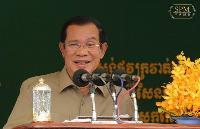 柬埔寨面临内忧外患 洪森表达坚定信念