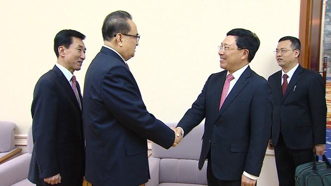 """越南副总理兼外交部长访问对朝鲜 或为协调第二次""""特金会"""""""