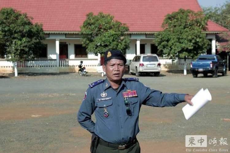 柬埔寨宪兵司令炫富被革职     新人上任