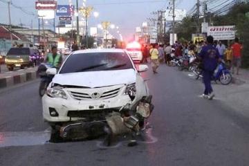 泰国传统新年期间因交通事故死亡人数近300