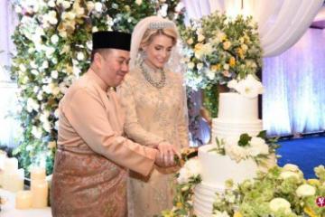 马来西亚吉兰丹王储迎娶瑞典女友