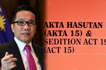 马来西亚预计年内以新法取代煽动法