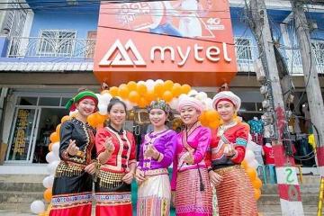 越南Mytel在缅甸市场占有率排名第三