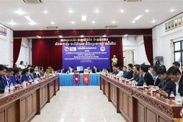 越南老挝两国企业加强合作