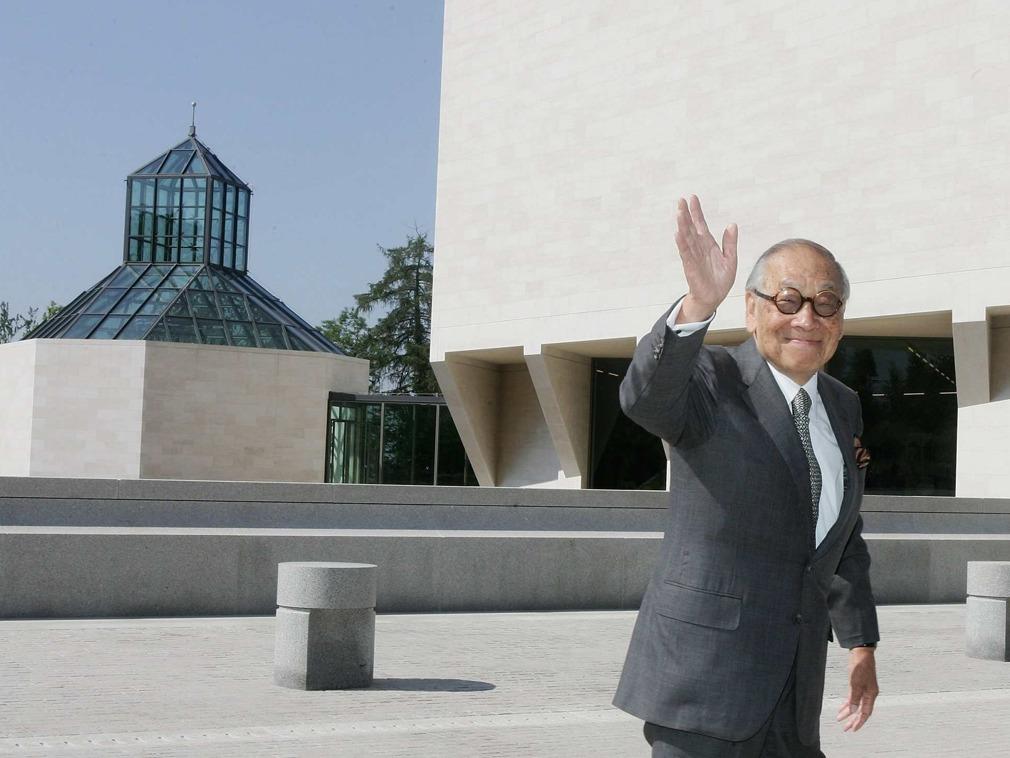 世界著名华裔建筑师贝聿铭逝世 享年102岁