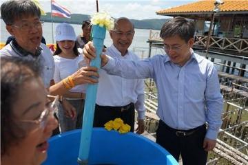 中国驻泰国大使吕健访问泰尖竹汶、罗勇府