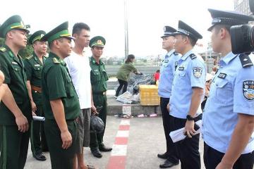 在越南海域遇险获救的中国渔民已移交中方