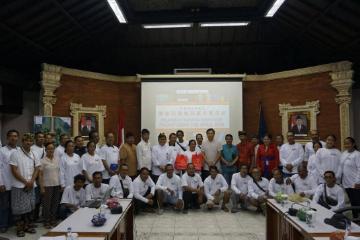 印尼巴厘岛努沙杜瓦旅游业从业人员中文培训班开班