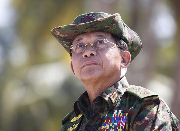 """指缅甸国防军总司令等""""侵犯人权"""" 美国宣布制裁禁止入境"""