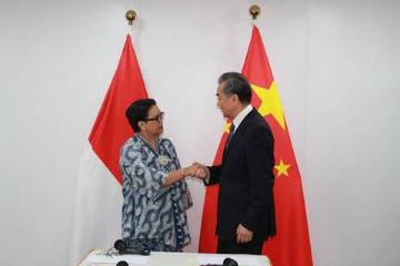 印度尼西亚外长会见中国外长王毅:佐科总统将出席第二届中国进博会