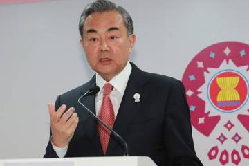 """中国外长王毅回应对""""南海行为准则""""磋商的四个疑问"""