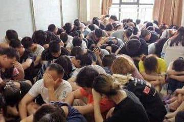 柬中联手扣留365名疑为涉及网络犯罪的中国公民