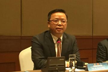 中国驻东盟大使黄溪连就中美经贸摩擦问题回答记者提问