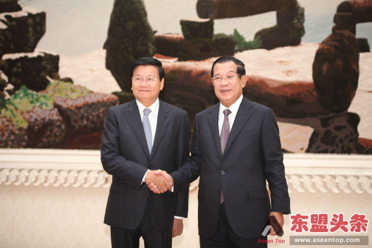"""柬埔寨和老挝关系升级为""""全面战略合作伙伴"""""""
