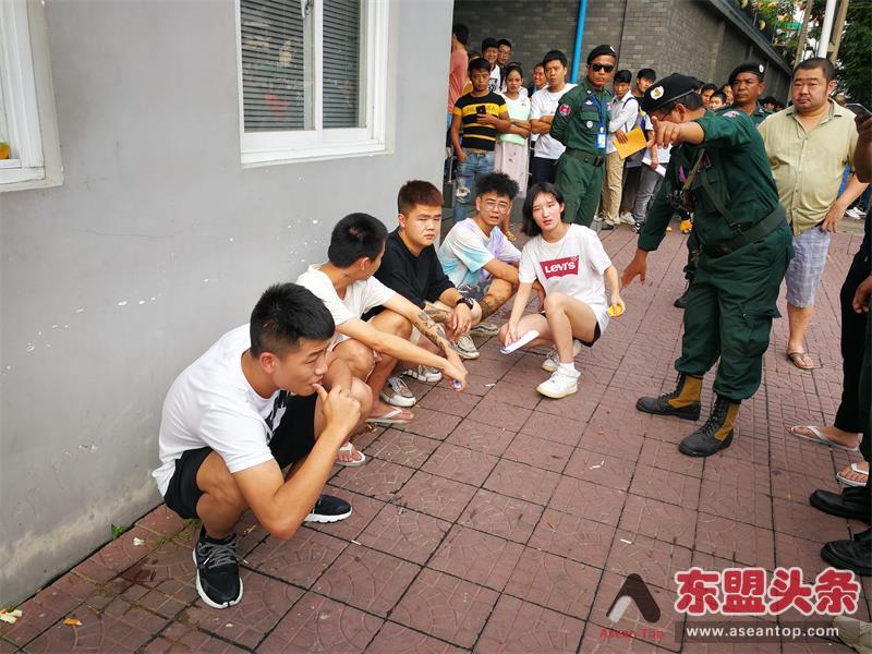 企图绑架同胞 中国使馆安保协同柬警捉5狂徒