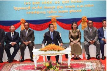 柬埔寨总理洪森:强国制裁游戏无法扼杀柬埔寨