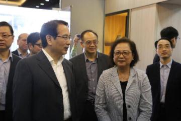 中华海外联谊会谭天星谭天星访问柬埔寨中国港澳侨商总会