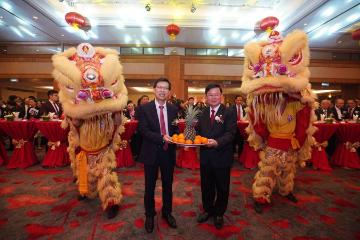 中国驻槟城总领馆举行2020年新年招待会 华侨华人各界800人出席