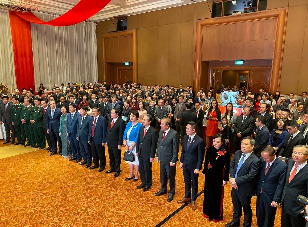 中国驻越南使馆举行庆祝中越建交70周年招待会