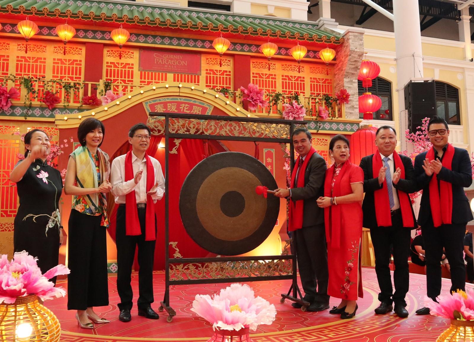 """马来西亚槟城举行""""欢乐春节""""活动"""