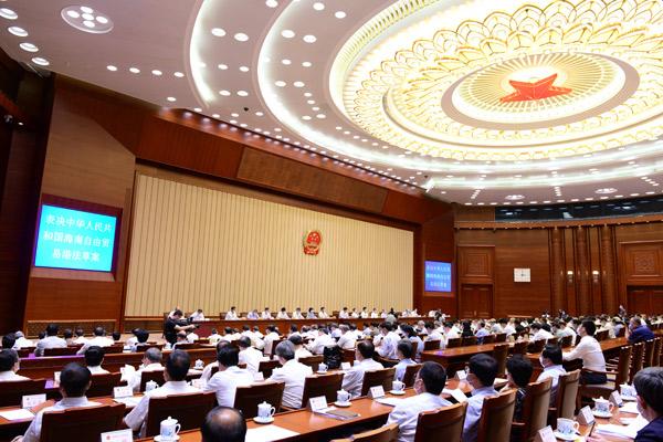 中国制定《反外国制裁法》 国务院有关部门可制定反制清单